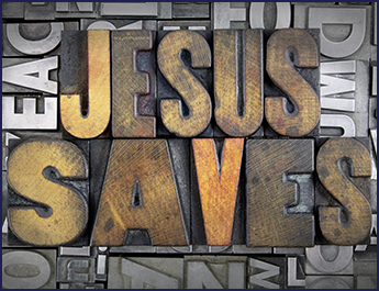 Jesus Saves Graphic